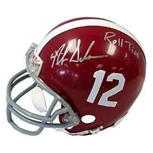 Nick Saban  Roll Tide Autographed University of Alabama Crimson Tide