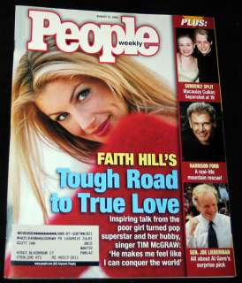 2000 People FAITH HILL Maria Conchita Alonso (N MINT)