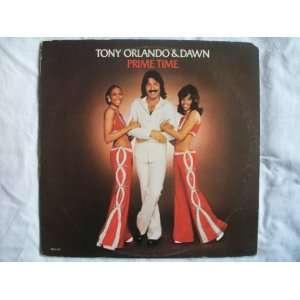 TONY ORLANDO & DAWN Prime Time LP 1974 Tony Orlando