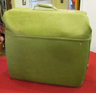 Vintage American Tourister Garment Bag Luggage Green