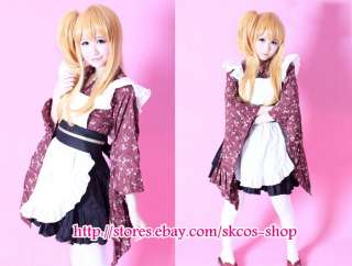 FAIRY TAIL LUCY Cosplay wig costume