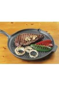 Pre Seasoned Griddle Cast Iron 10 Round Skillet Pan