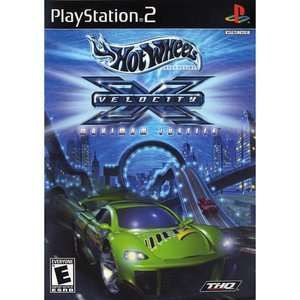 Hot Wheels Velocity X (PS2)   Pre Owned Pre Owned Games