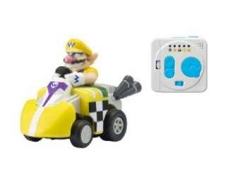 Takara TOMY choro Q Mario Kart Wii QVM 02 Wario R/C car