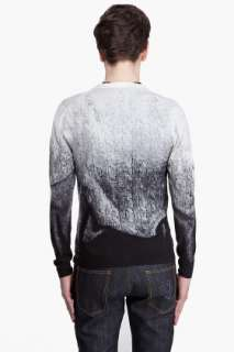 Alexander Mcqueen Cable Knit Print Cardigan for men