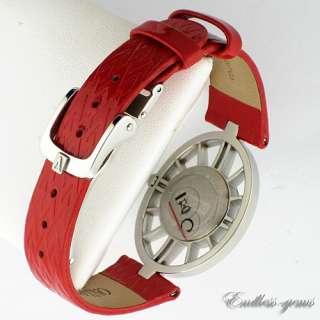 Valentino Vanity Diamond Bezel Ladies Watch V42SBQ9102S800 Red Leather