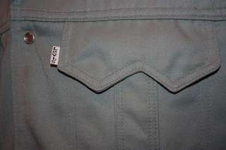 vtg 70s LEVIS western leisure suit jacket * PEARL SNAP * shirt