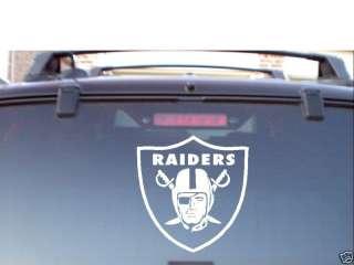 NFL OAKLAND RAIDERS 7YR VINYL CAR WINDOW DECAL STICKER
