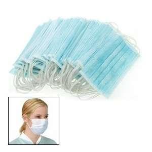 Ear Loop Medical Surgical Dust Face Mask 50pcs Blue