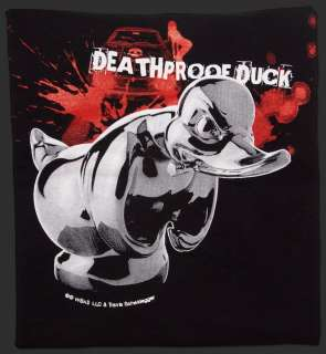 DEATH PROOF / CONVOY RUBBER DUCK HOOD ORNAMENT T SHIRT