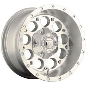 Fuel Revolver 15x10 Silver Wheel / Rim 5x4.5 & 5x4.75 with