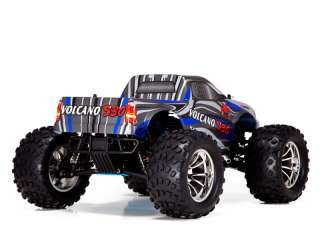 RTR RC TRUCK RTR MONSTER NITRO BLUE RTR NEW
