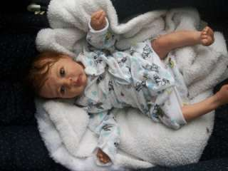 Toby Morgan reborn baby girl life like doll fake baby Limited Edition