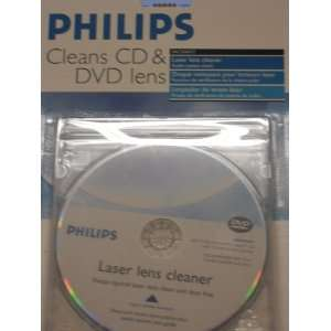 PHILIPS LASER LENS CLEANER AUDIO SYSTEM CHECK Electronics