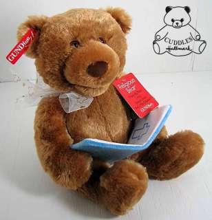 Bear Jesus Loves Little Children Plush Toy Talking Stuffed Animal BNWT