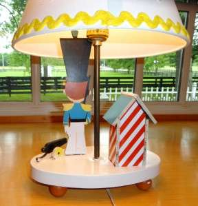 Vtg~Dolly Toy Co~LAMP & NIGHT LIGHT~Soldier~Star~Kid~Baby~Boy~Nursery
