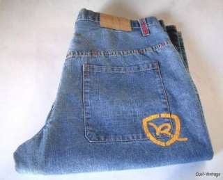 Genuine ROCAWEAR authentic MENS 38 x 32 Relaxed Hip Hop Denim Blue