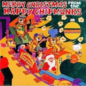 : Audio CD. Merry Christmas from the Happy Chipmunks. Holiday Records