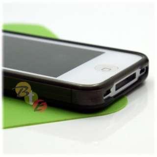 4x SOFT TPU SILICONE GEL CASE COVER iPHONE 4 4TH GEN