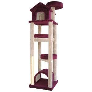 Skyscraper Cat Tree with Sisal Scratching Post Pet Supplies