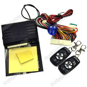 Universal Car Remote Central Lock Locking Keyless Entry System with