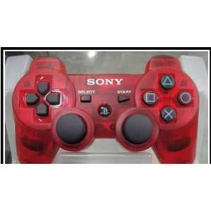 Charming Wireless Bluetooth Controller Sony PS3(Red) Electronics