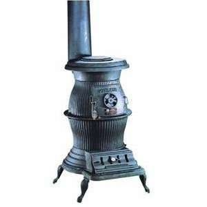 200,000 BTU Cast Iron Pot Belly Stove, Model# PB65XL: Home Improvement
