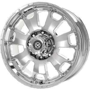 American Racing ATX Vice 18x8.5 Chrome Wheel / Rim 5x150 with a 30mm
